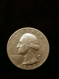 1983 P Washington quarter (spitting eagle) Ogden, 84401