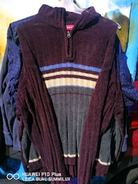 purple and white striped sweater Winnipeg, R2V 2J8