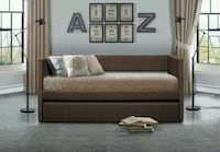 Therese Chocolate Daybed with Trundle   1201 mi