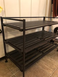 Shoe Rack, Removable Shelves