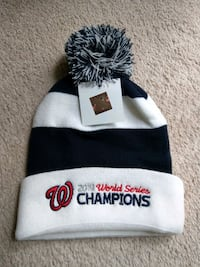 Nationals World Series Champs 2019 beanie hat Rockville, 20854