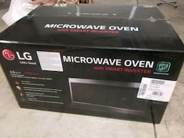 Lg counter top microwave