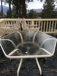 Patio set,100$ OBO pick up only