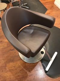 OLYMP  hair stylist hydraulic chairs i have 2 paid 700$ new still in great shape