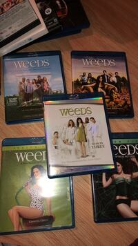 Weeds season 1-5. $10 for all  Ajax, L1T 2E4