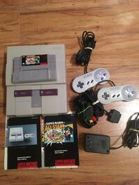 Nintendo SNES Complete with Super Mario All Stars and 2 Controllers  Maple Ridge, V2X 3W1