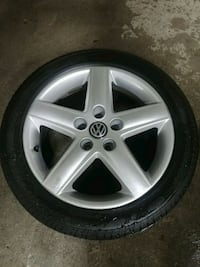 Audi A4 rims and tires North Vancouver, V7G 2T3