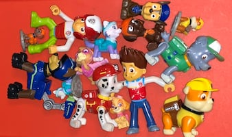 Paw Patrol Mini Figures & Character Toys