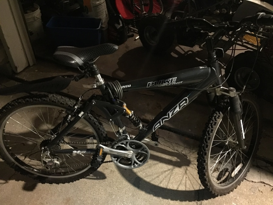 Black Anza Hardtail Mountain Bike In Lenexa Letgo