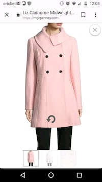 women's pink trench coat Council Bluffs, 51503