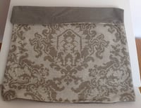 TAUPW/CREAM TAPESTRY W PATTERN/SOLID
