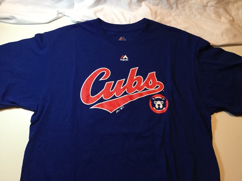 "Chicago Cubs Old School ""Cubbies"" Shirt 46deccc0-139e-4c98-874c-d5c84f2692bd"