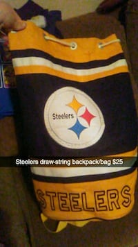 black and yellow Steelers print textile Haysville, 67060