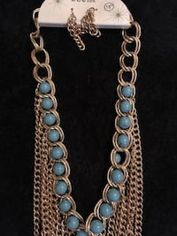gold-colored chain necklace Merced, 95340