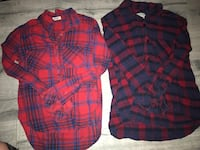 Plaid shirts Barrie, L4M 1A4