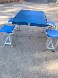 Foldable Picnic Table w/Carrying Case  Medford, 97501