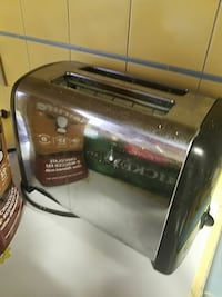 stainless steel and black 2-slice bread toaster Los Altos, 94024