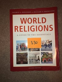 RELS 201: World Religions: A guide to the essentials Calgary, T3K 0G4