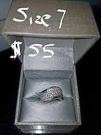 silver studded ring in box Conception Bay South, A1W 4C7