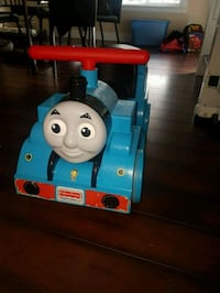 Ride on Thomas the train with tracks.