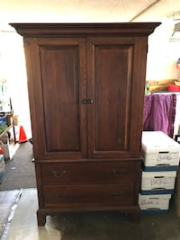 Restoration Hardware Armoire  [PHONE NUMBER HIDDEN]  inches Santa Ana, 92705