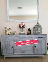 "Shabby chic buffet 53""L30""T20""D Apple Valley, 92308"