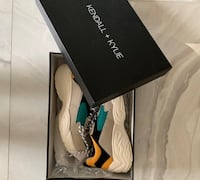kendall and kylie platform chunky sneakers