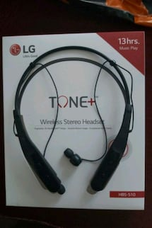 Lg wireless stereo headset hbs-510