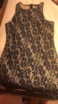 black and brown floral sleeveless dress Houston, 77075