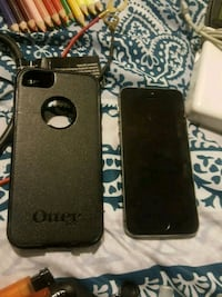 black iPhone 5s  with otter box Guelph, N1E