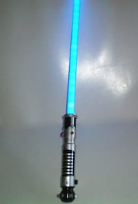 Star Wars Blue Anakin Lightsaber with Sounds C-2945A London