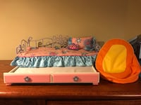 Doll Trundle Bed and Bean Bag Chair Richmond Hill