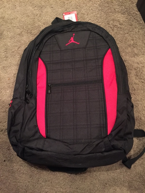 8a3a3fa347ff Used black and red Air Jordan backpack for sale in Vallejo - letgo