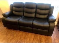 Brand new 3 piece living room set Reclining free delivery when