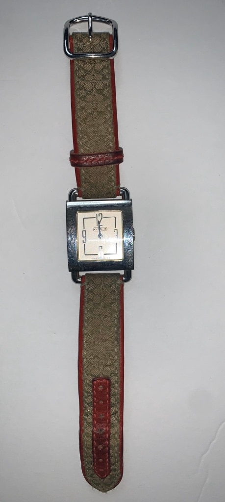 Photo Coach Womens Watch Swiss Movement Excellent Condition Needs Battery