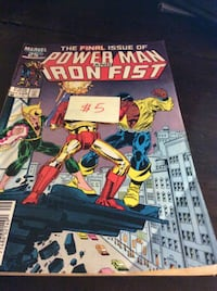 JUST REDUCED comic The Final Issue of Power man and Iron Fist    Rockville