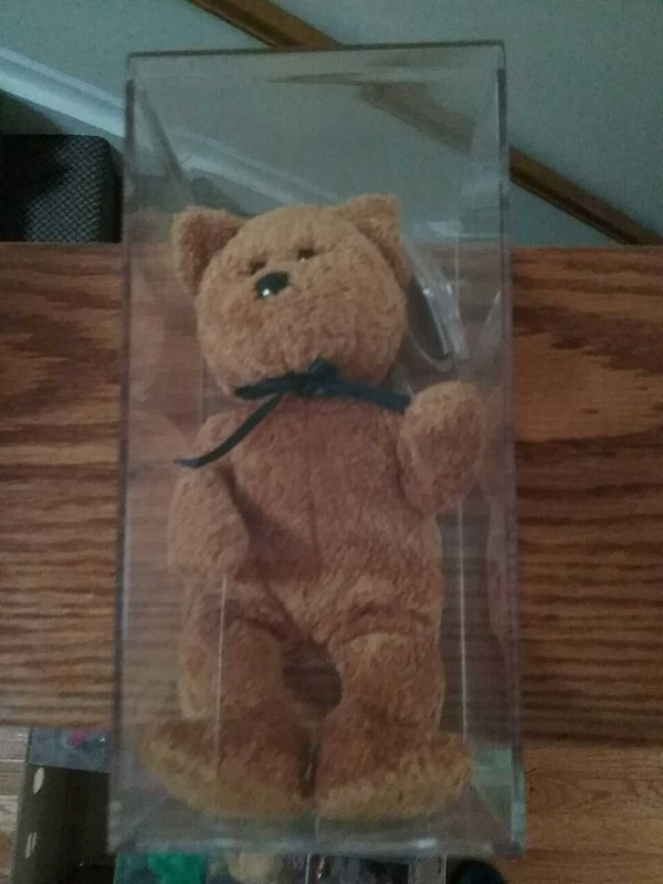 ada040ea9fe Used Rare Ty Beanie Baby Fuzz for sale in Harwood Heights - letgo