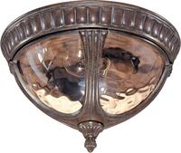 BRAND NEW Nuvo 60/2007 Flush Dome with Amber Water Glass, Fruitwood Oshawa
