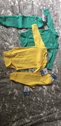 Baby cotton sleepers 6-9 months Greater Vancouver, V6T