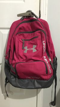red and black Under Armour backpack Barrie, L4M 6H3