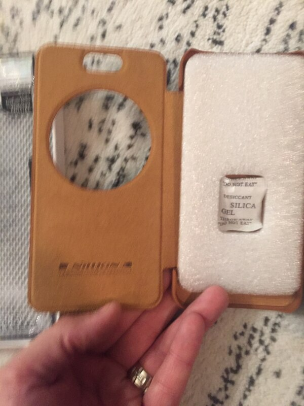 Asus zenfone selfie leather folio style case brand new  bf26df69-67d2-4bac-bba7-f8d522466d35