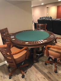 Imperial International 2 in 1 Poker Table with 4 chairs Smithtown, 11787