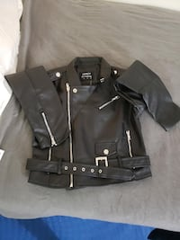 New Faux Leather Fashion Nova Jacket