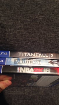 Titanfall 2, Star wars battlefront & nba 2K 16