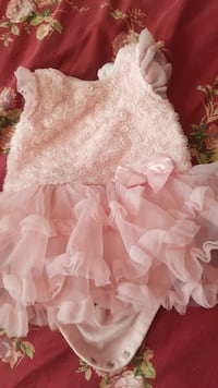 girl's pink floral tutu dress Markham, L3S 4V7