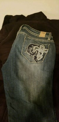 blue Miss Me denim bottoms 1073 mi