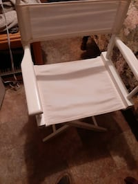 Folding Directors style chair