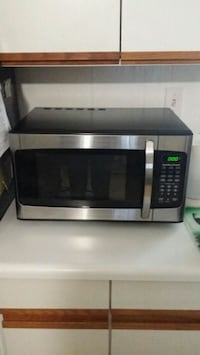 stainless steel and black microwave oven Delray Beach, 33484