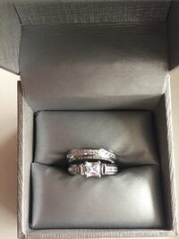 silver-colored ring with box Edmonton, T6L 1Z3