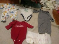 Newborn baby clothes and diapers Gadsden, 35901